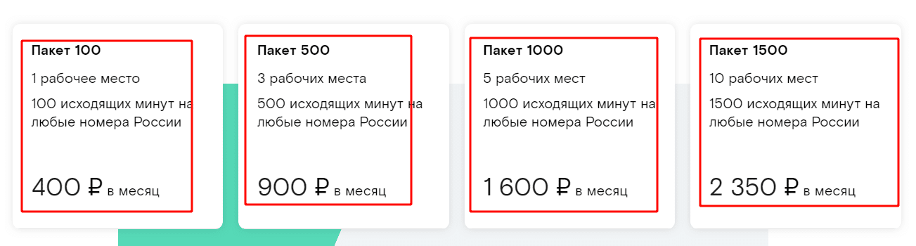 Тарифы на 2019 год